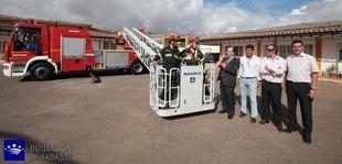 El Consorcio Provincial de Extinci�n de Incendios de Badajoz adquiere un cami�n autoescala que alcanza 32 metros