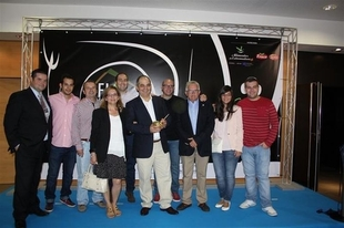 El cocinero extreme�o Manuel Espada recibe el I Premio Almirez en el marco de 'GastroFIAL' de Don Benito