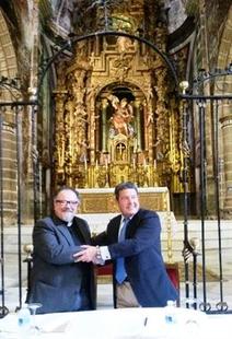 El presbiterio de Santa Mar�a de la Encarnaci�n de Jerez de los Caballeros contar� con iluminaci�n art�stica
