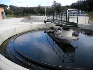 La nueva depuradora de Fuentes de Le�n evitar� el vertido de unos 365.000 metros c�bicos de aguas residuales a un r�o