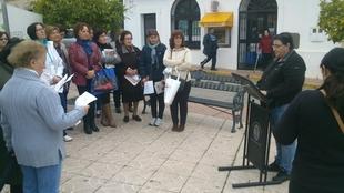 La Asociaci�n de Mujeres Gabino Amaya conmemora el 25 de Noviembre