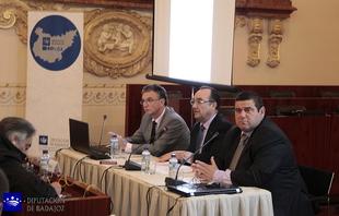 Valent�n Cort�s presenta el nuevo Geoportal de la Diputaci�n de Badajoz
