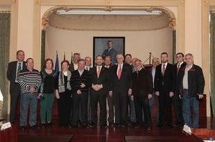 El pleno de la Diputaci�n aprueba la firma del convenio con Turespa�a para la reparaci�n de desperfectos en el Hospital Provincial