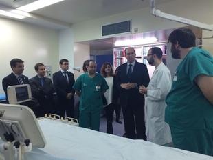 El Hospital de M�rida amplia a Don Benito-Villanueva el servicio de hemodin�mica y duplica los cateterismos anuales