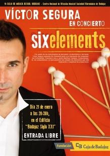 El percusionista V�ctor Segura clausura el VI Ciclo de M�sica Actual de Badajoz