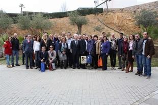 D�ez Sol�s da la bienvenida a los socios europeos que participan en un proyecto con el IES 'Los Moriscos'