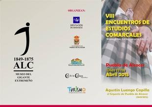 Los VIII Encuentros de Estudios Comarcales de Puebla de Alcocer, dedicados a Agust�n Luengo Capilla