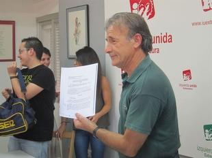 IU lamenta la ''resistencia'' del PSOE al recuento de los m�s de 7.000 votos electorales nulos de la provincia de Badajoz