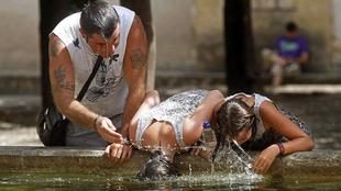 Las Vegas del Guadiana de Badajoz, en alerta amarilla por altas temperaturas