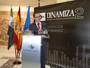 La diputaci�n de Badajoz destina 12,1 millones de euros al Plan Dinamiza II
