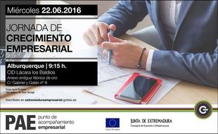 El Centro Integral de Desarrollo de Alburquerque celebra unas jornadas de crecimiento empresarial