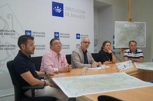 Actualizaci�n del mapa de la provincia de Badajoz