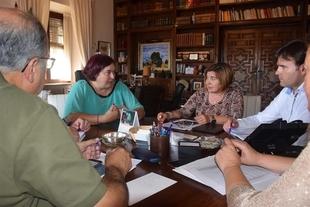 Diputaci�n de C�ceres y Junta de Extremadura coordinan actuaciones para generar empleo en la zona del Tajo Internacional