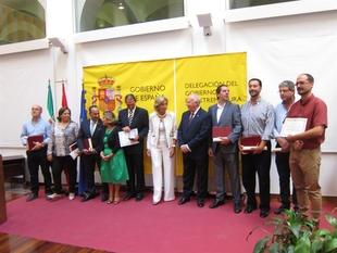 El juez de vigilancia penitenciaria �ngel Est�vez recibe la Medalla de Plata al M�rito Social Penitenciario