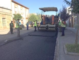 Comienza la ejecuci�n de obras en la CP BA-152 de Valle de Santa Ana a la N-430