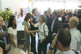 Garc�a Tejerina y Fern�ndez Vara destacan la importancia de la Feria Internacional Ganadera de Zafra