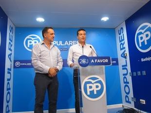 El PP de Badajoz tacha de ''persecuci�n pol�tica'' el caso del alcalde de T�liga