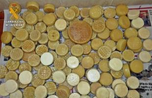 Intervenidos en Villanueva del Fresno m�s de un centenar de quesos ''sin garant�as sanitarias''