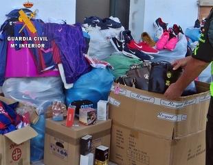 Intervenidos un millar de art�culos falsificados en la Feria de Zafra valorados en 51.000 euros