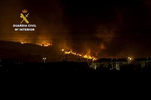 Detenido el presunto autor del incendio forestal que oblig� a evacuar a 150 vecinos en Navalmoral de la Mata