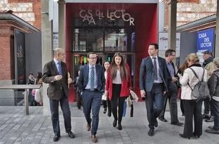 La Diputaci�n de Badajoz renueva su convenio con la Fundaci�n Germ�n S�nchez Ruip�rez para el fomento de la lectura