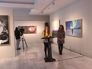 La Diputación de Badajoz acoge la exposición de las obras finalistas del XXXIV Premio de Pintura Eugenio Hermoso