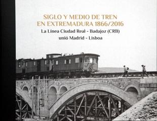 Gallardo reivindica un tren ''digno'' para Extremadura en un libro sobre la historia de este transporte en la región