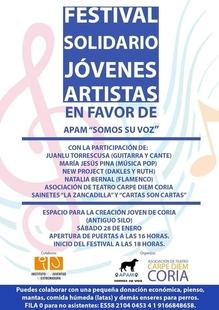 Coria (Cáceres) celebrará un festival solidario de jóvenes artistas a favor de una protectora de animales