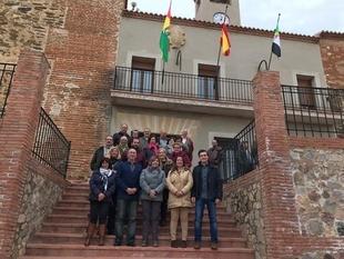 Torrejón el Rubio (Cáceres) inaugura las obras del consistorio, que se adapta a personas con movilidad reducida