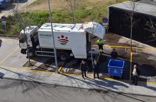 Promedio limpia y desinfecta más de 250.000 contenedores de residuos urbanos de la provincia de Badajoz en 2016