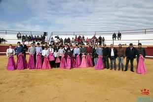La Escuela Taurina de la Diputación de Badajoz celebra un acto de apertura de curso en Bienvenida