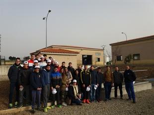 Medio centenar de estudiantes de formación profesional visita la planta depuradora de Fregenal de la Sierra