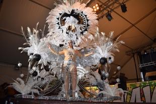 María José Quintana, reina del Carnaval de Don Benito 2017