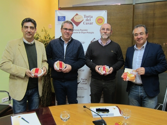 La DOP Torta del Casar certificó 294.371 kilos y facturó en 2016 más de 4,7 millones de euros