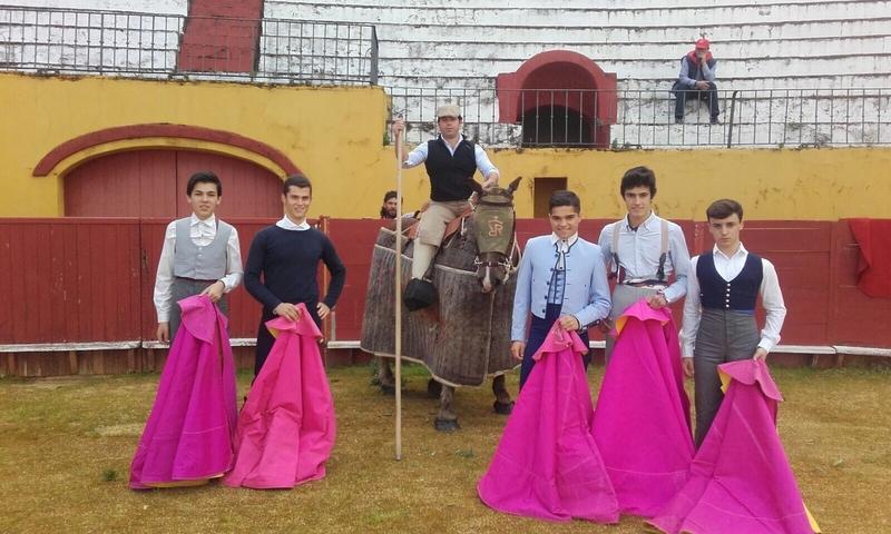 Alumnos de la Escuela Taurina de la Diputación participan en varias actividades el fin de semana