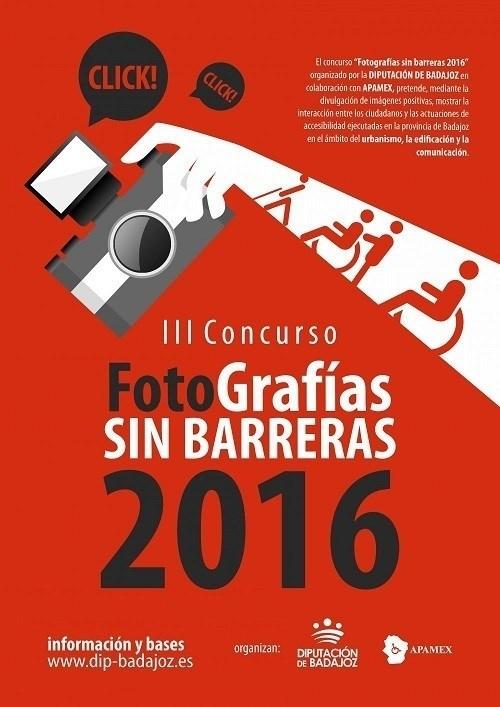 La muestra fotográfica 'Sin Barreras' comienza su recorrido por la provincia pacense en Zafra este viernes