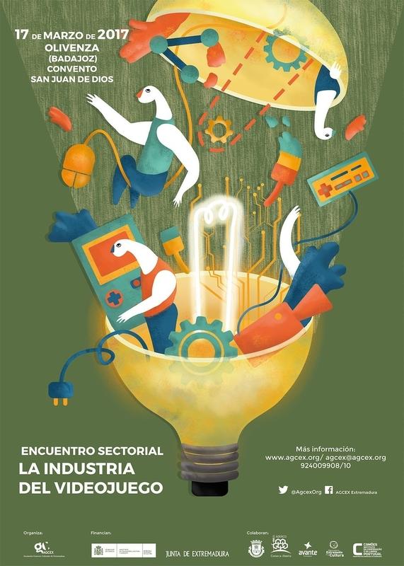 Un encuentro abordará este viernes en Olivenza (Badajoz) la industria del videojuego