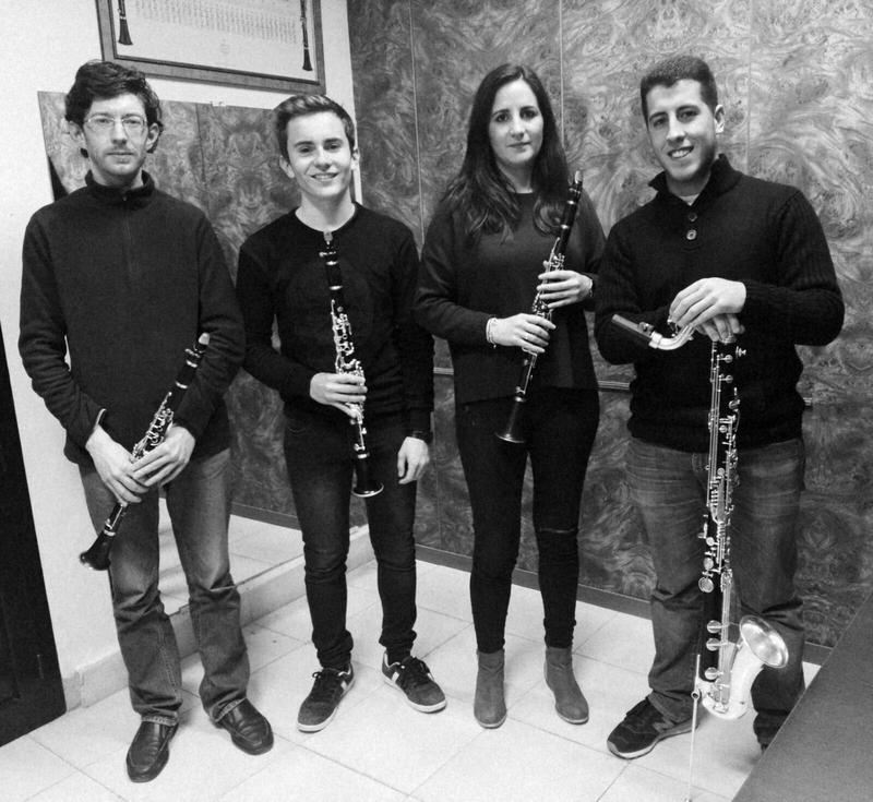Los cuartetos de saxofones y clarinetes del Conservatorio Profesional 'Juan Vázquez' ofrecen un concierto este sábado