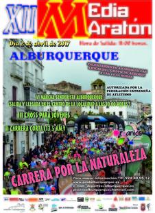 La XII Media Maratón de Alburquerque se celebrará el próximo 2 de abril
