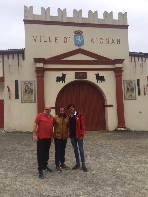Los alumnos de la Escuela Taurina de Badajoz participan en tentaderos y novilladas durante la Semana Santa