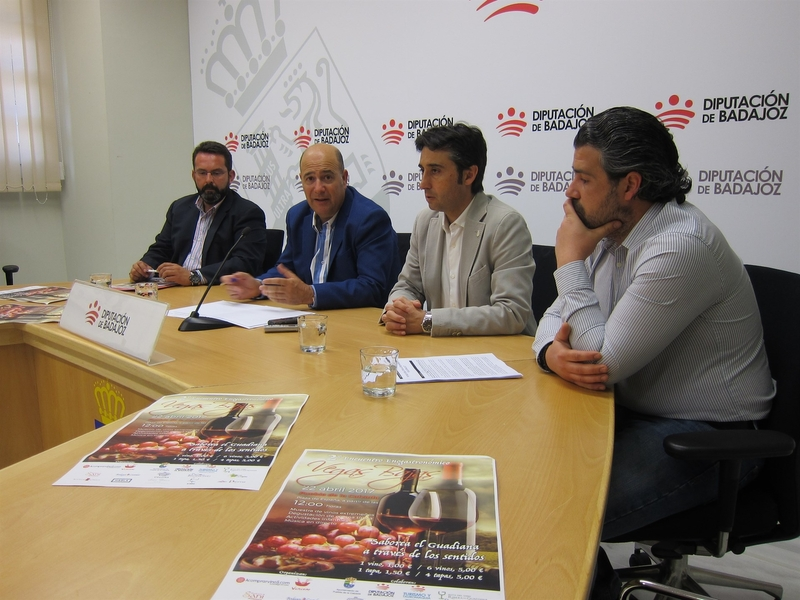 El II Encuentro Enogastronómico Vegas Bajas pretende reunir en Puebla de la Calzada a más de 2.000 personas