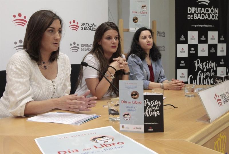 La Diputación de Badajoz traslada a Cabeza del Buey la celebración del Día del Libro, que se conmemora este viernes