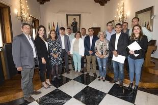 La Diputación de Cáceres firma convenios con las DOP e IGP por un valor de 60.000 euros para apoyar sus acciones