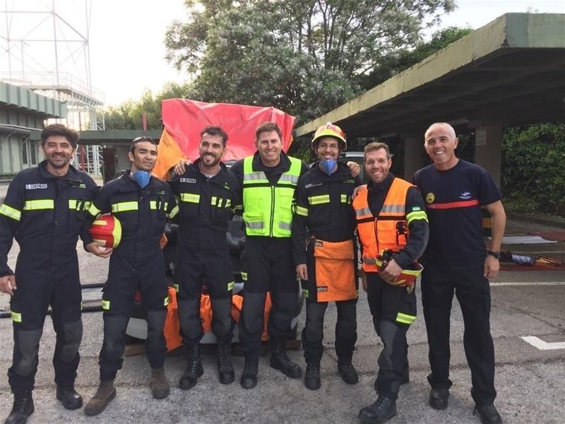 Efectivos del CPEI de Badajoz participan en el II Congreso Nacional de Prevención de Riesgos Laborales para Bomberos