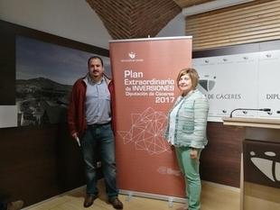 La Diputación de Cáceres destina seis millones de euros a un Plan Extraordinario de Inversiones para fomentar el empleo