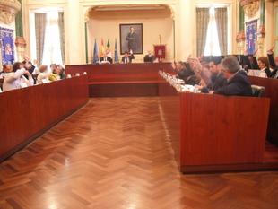 El Pleno de la Diputación aprueba una moción conjunta de adhesión al Pacto por el Ferrocarril