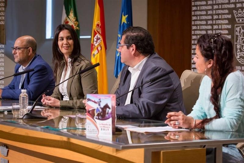 La recreación de la Batalla de La Albuera 2017 otorga más protagonismo al papel femenino en el acontecimiento