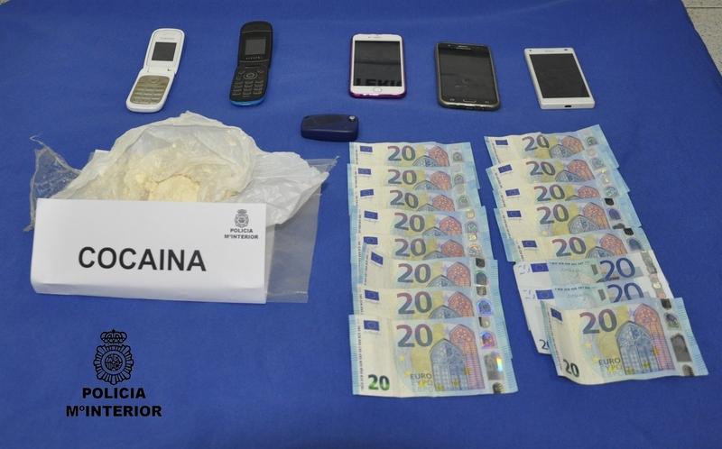 Detenidos un hombre y una mujer por tráfico de drogas en Almendralejo