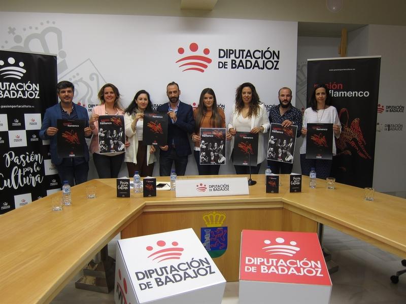 Ortega, Merino o De Tena ofrecerán actuaciones en el Circuito 'Pasión por el flamenco 2017' de la Diputación