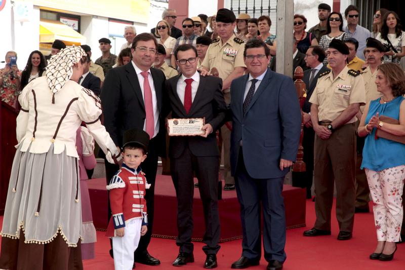 Miguel Ángel Gallardo agradece el Premio Adalid de la Paz 2017 a la Diputación
